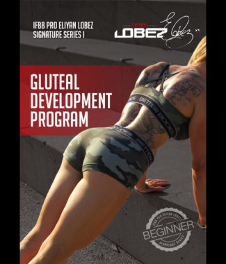 eliyan lobez signature series gluteal development program for beginners